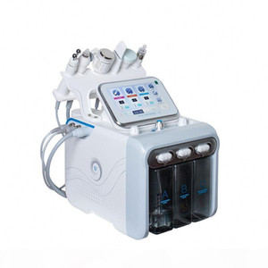 6 in 1 Spa use Diamond Peeling and Water Jet Beauty Aqua Facial Hydro Dermabrasion Peel Machine
