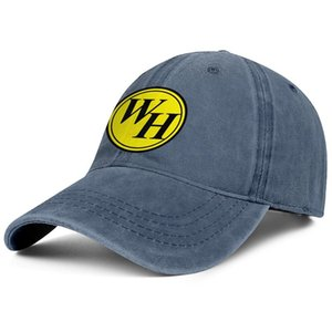 Stylish Waffle House Okaloosa Island Unisex Denim Baseball Cap Cool Classic Hats White Oval Neon Sign Checkered Chrome Double Clock of