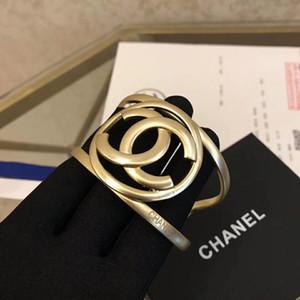Fashion-Top Brass qualità amore materiale punk aperto cava PS5311A Braccialetto largamente polsino di disegno del braccialetto di gemello donne del braccialetto e regalo della madre