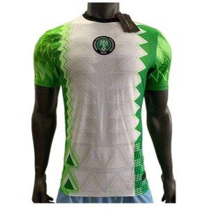 2020 Nigeria Player Version Soccer Jersey #10 OKECHA #7 MUSA Uniform Mens #4 NDIDI IHEANACHO Player Football Shirt