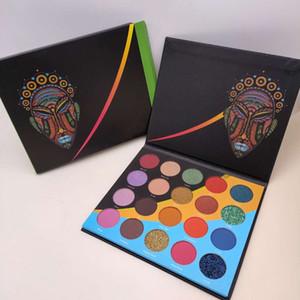 HotThe wahala palette 20 Colors Eye shadow palette Glitter Shimmer Matte Easy to Wear Long-lasting