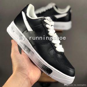 Hot GD x PEACEMINUSONE x 1s Nuovo Skateboard Scarpe Nero Bianco Designer Brand New Mens donne Basktball Sport Sneakers