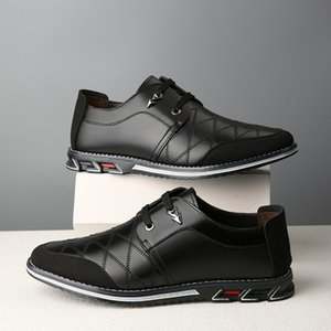 Vastwave Neue echtes Leder Loafers Männer Mokassins Sneakers Boots-Schuhe Mann Wohnung verursachende Männer Schuhe Adult Male Mode Schuhe