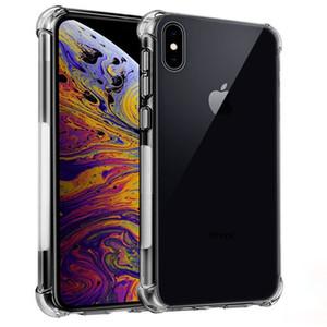 Бампер Мягкий прозрачный чехол для IPhone 11 XI Max 2019 Clear TPU чехол для IPhone 11 Макс XIR ударопрочный крышка телефона Etui Shell
