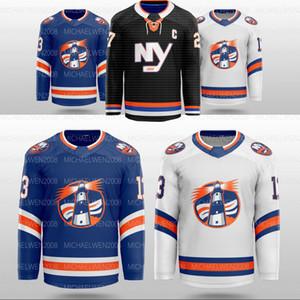 New York Islanders Konzept Mathew Barzal Derick Brassard Brock Nelson Bailey Beauvillier Lehner Eberle Anders Lee Pinock Hockey Jersey