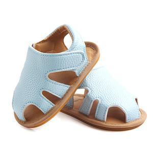Baby-Sandalen PU Mädchen Prewalkers Säuglingssommer kühle Krippe Schuhe