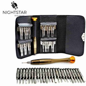Cheap Screwdriver 25 in 1 Torx Multifunctional Opening Repair Tool Set Precision Screwdriver For Phones Tablet PC Huawei X
