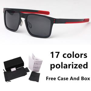 حزمة كاملة ماركة نظارات شمسية uv400 يستقطب عدسة الرياضة نظارات شمس موضة تريند الدراجات نظارات 17 الألوان