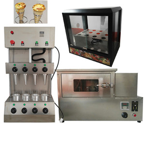 Wholesale Price Quality Assurance Pizza Display Cabinet Rotary Oven Pizza Conical Egg Cone Machine 110v   220v