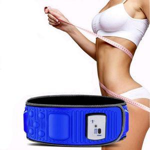 Vibration Abnehmen Massage Ablehnung Fett Gewichtsverlust Gürtel Elektro-Infrarot-Slimmerbelt Gewicht verlieren Fitness-Massagegerät Vibration Bauchfett B