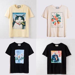 manica corta donne sensualità mens maglietta di modo di abbigliamento punk di hip hop cime delle colline stampa della lettera di estate Skateboard Coppie Beverly T casuali