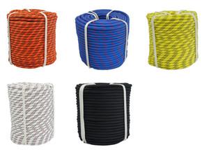 Cordes Escalade 10mm * 10 m de haute qualité en polyester nylon Corde randonnée en plein air Équipement Camping Survie plusieurs options de couleurs