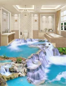 3D Wallpaper The Paradise Waterfall In The World 3D Wallpaper Camera da letto murale pavimento