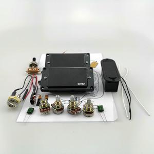 25K 전위차계와 일렉트릭 기타 픽업 EMG 액티브 픽업 험버커 활성 9V 배터리 전원 공급 장치