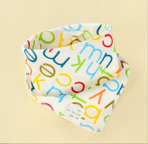 New 1Pcs Infant Kids Baby Unisex Feeding Saliva Towel Dribble Triangle Bandana Bibs Burp Cloths Baby Gifts