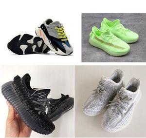 어린이 신발은 스니커즈 유아 카니 예 웨스트 (Kanye West) 실행 신발 유아 아기 어린이 청소년 소년 소녀 CHAUSSURES은 Enfants을 붓고