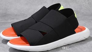 Sandalias Y3 de verano Zapatillas de hombre samurai negro Zapatillas de plataforma deportiva con punta abierta Versión coreana de la playa de ocio romana