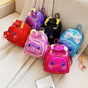New bonito Crianças Mochilas Brand Design Meninos da menina Backpack criança crianças Neoprene Escola Bags Kindergarten Saco dos desenhos animados T-24760