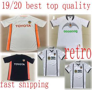 melhor qualidade em valencia clássico estoque Retro 2006 2007 2009 Futebol DAVID VILLA 06 07 09 Retro camisa de futebol S-2XL