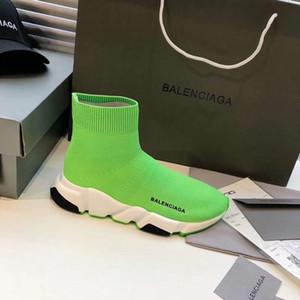 balenciaga Высокое качество носки обувь дизайнерская мужская и женская спортивная обувь роскошные удобные дышащие повседневные плоские мужские и женские туфли