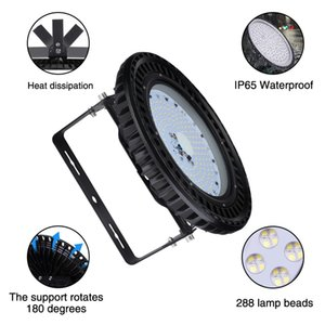 150W Mining Lamp UFO LED Light 110V 2835 Lamp Beads Energy-saving Lamp Garages,Warehouses Workshops Light High Bay