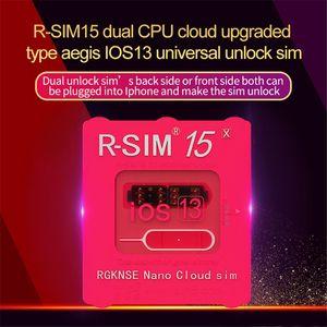 RSIM15 para iOS13 RSIM cartão de desbloqueio 15 RSIM15 dupla CPU atualizado desbloqueio universal para iPhone 11 Xs MAX XR XS X 6 7 8 PLUS ios7-13.x MQ100