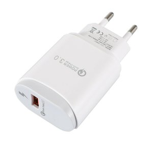 Universal Smart fast charging EU plug QC 3.0 Fast Quick Charge USB Port Charger 5V-2.4A Power Adapter Phone Universal