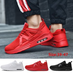 Men's Casual Mesh Breathable Sports Shoes Men's Air Cushion Training Shoes Outdoor Training