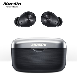 Bluedio Fi Bluetooth écouteurs sans fil écouteurs TWS sport étanche casque écouteur sans fil dans l'oreille avec boîte de charge