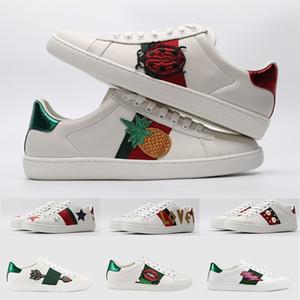 2020 İtalya Tasarımcı Ayakkabı Ace Arı Yıldız Ananas Beetle Kaplan yavrusu Vintage Siyah Üçlü Beyaz Sneakers İçin Erkek Bayan Çocuk Casual Ayakkabı