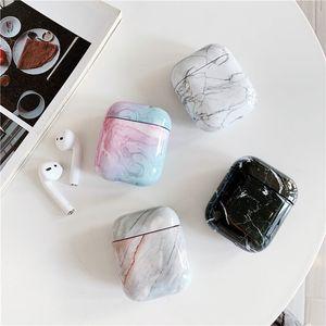 Pouch Schutz TPU Airpods Fall für Korea Marmor Designer Airpods Fall für 1 und 2, 3 drahtloser Bluetooth Kopfhörer AirPods Profall