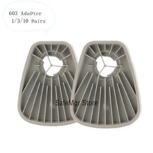 603 Gaz Orjinal 603 Adaptör Pamuk 5N11 Adaptör Boya olarak 6200 7502 6800 Work solunum aleti Filtre Adaptörü Çalışma Maske