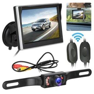 5inch Monitor Digital + Car Câmara de visão traseira Combinação produtos adequados para Trailer Car Truck Bus