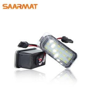 LED في canbus أضواء لوحة ترخيص لعيد JA8، مصابيح التركيز DA3 5D DYB S-MAX C-MAX الكبرى C-MAX مونديو BA7 كوجا AUTO عدد