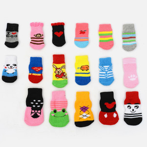 Non-Slip Doggy Socks Cotton Lovely Pet Sock Fashion Creative Home In Spring And Summer Various Styles 1 73zk J1