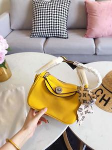 Tasarımcı çanta litchi desen linday kadın çanta H k adı ile yüksek kaliteli çanta çanta moda kılıf çanta