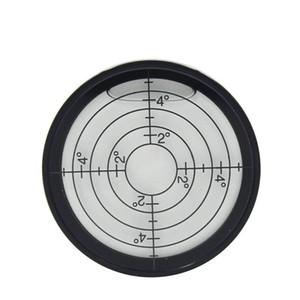 HACCURY Metal vidro circular Universal de grande dimensão precisão de nível de bolha Horizontal 5mm / m 10mm / m