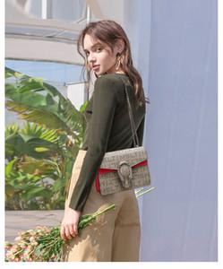 Handtaschen-echte Leder-Schulterbeutel Frauen Umhängetasche Handtasche Kleine Mini-Tasche pruse 28cm 24cm 20cm 18cm, kommt mit Kasten