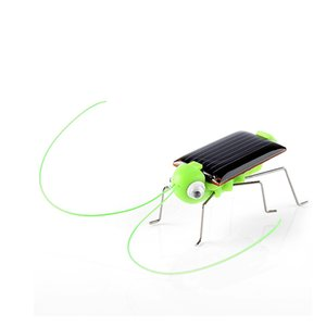hot selling solar power energy crazy grasshopper cricket kit toychildren baby play supplies
