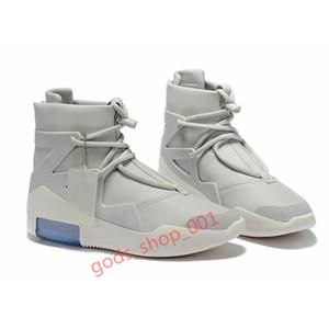 Comparer avec des articles similaires hotsale Fear Xshfbcl de Dieu 1 Bottes chaussures de marque Triple Noir Orange haute cheville Chaussures de sport Sneaker mens winte