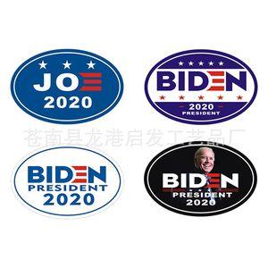 Candidato presidencial de Estados Unidos, Joe Biden, Azulejos oval del cuerpo de coche pegatinas iman de frigorífico hogar de DIY suave Magnetismo 2 5QF D2