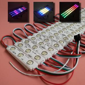 12V WS2811 5050 Modulo luce di RGB LED Tape 3LEDs indirizzabile sogno Magic Color Change iniezione impermeabile di copertura per la finestra Front sign