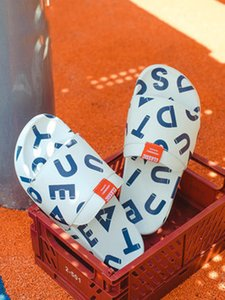 Home slippers summer trend couple couple slippers flip-flops home care shoes indoor and outdoor beach sandals non-slip9