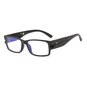 Yeni Moda Alman Plastik Akıllı Led Işık Okuma Gözlüğü Işık Çerçeve Metal Erkekler Karşıtı Mavi Işık Bilgisayar Kullanımı için Glasses Engelleme