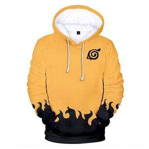 Ztrv4 Coat dress Naruto 3d digital printing hooded loose Coat couple dress Naruto 3d digital printing pullover hooded loose Pullover sweater