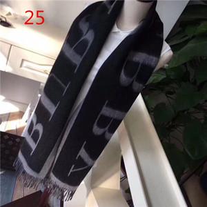 2019Winter eşarp kaşmir şal klasik ekose baskı marka şal, moda kalın yün şal kadın şal 180 * 70cm