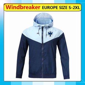 monterrey Windbreaker Hooded soccer jackets, monterrey full zipper Windbreaker coat football hoodies Windbreaker wearshirt Running Jackets