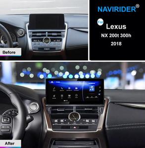 ستيريو الذكية Autoradio الروبوت سيارة الوسائط المتعددة راديو لNX 300H NX200 NX200T 2018 NX300H 200T 200 GPS رئيس وحدة الملاحة سيارة دي في دي