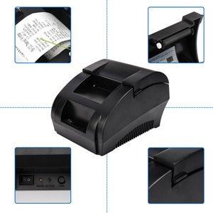 5890K USB 58 milímetros Thermal Receipt Printer Ticket Impressora Térmica para Pos Sistema Restaurante Supermercado US Plug UE