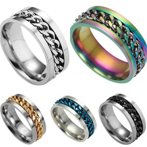 Valentine'S Day Gift- Mixed Order Dropshipping Stainless Steel Rings Mens Ring Chain And Tyre Design Rings Jewelries Factory Supplier 016 #67
